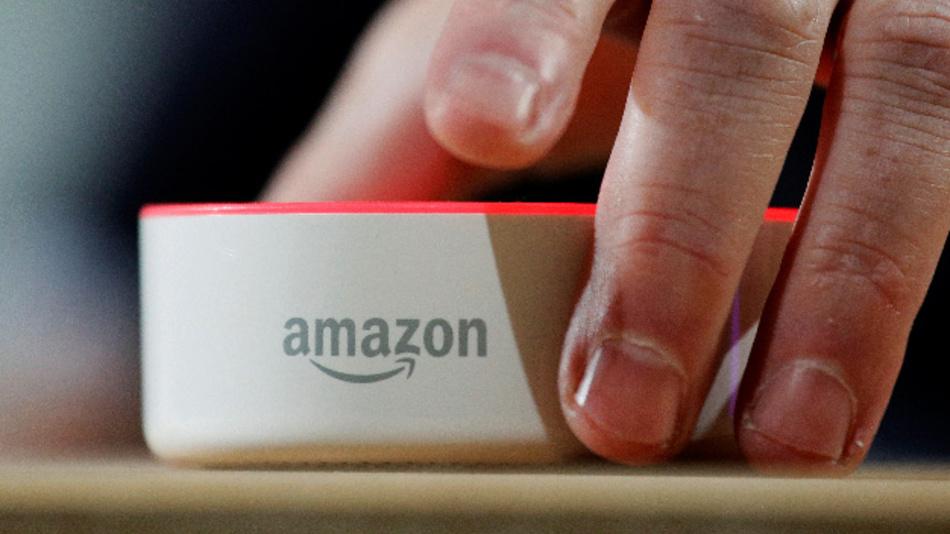 Der Lautsprecher Amazon Echo mit dem Alexa Voice Service.