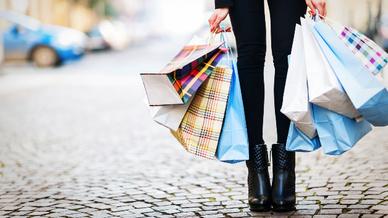 Einkaufen Einkaufstüten