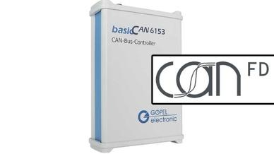 basicCAN6153.STM CAN FD Stress- und Triggermodul von Göpel Electronic
