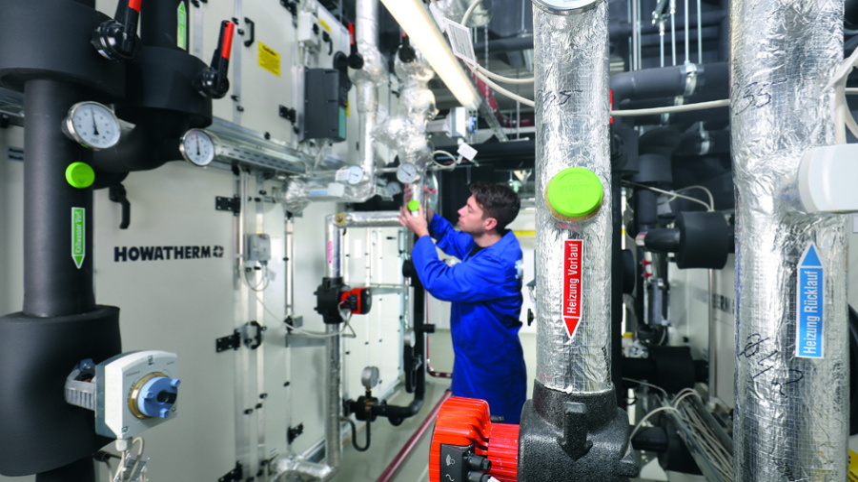 Ein MIOTY-Sensor und -Sender zur Überwachung der Rohre – z.B. für Temperatur, Druck oder Durchfluss – ist auch in Verbindung mit Energy Harvesting möglich.