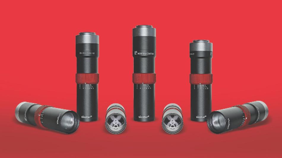 Durch Exaktheit zeichnen sich die Objektive der Serien »vicotar TOB11« und »vicotar TOB22« von Vision & Control aus.