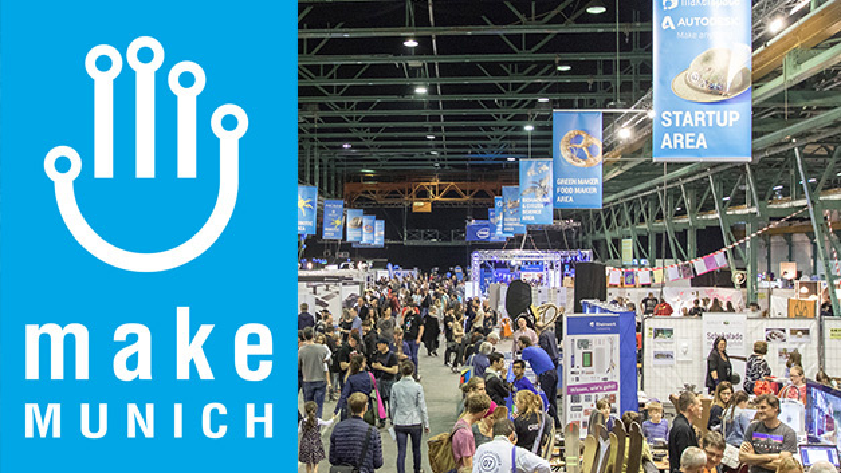 Am 2.und 3.März2019 findet die Make Munich in der Zenith-Halle und dem Kohlebunker München statt.