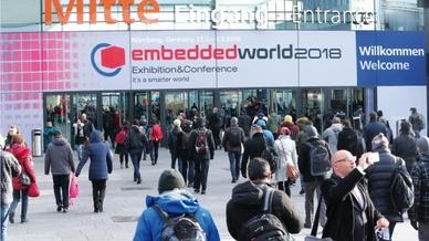 embedded world Eingang