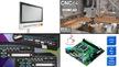 Bildcollage zu Produkten auf der embedded world 2019_Teil 2