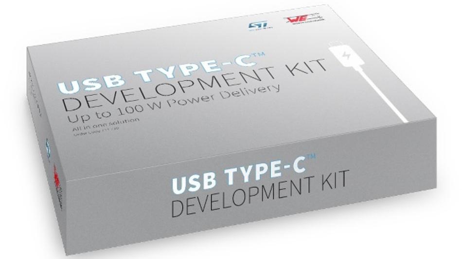 Ab sofort erhältlich: Development Kit für USB-Typ-C.