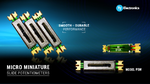 Platzsparende PSM-Serie von TT Electronics