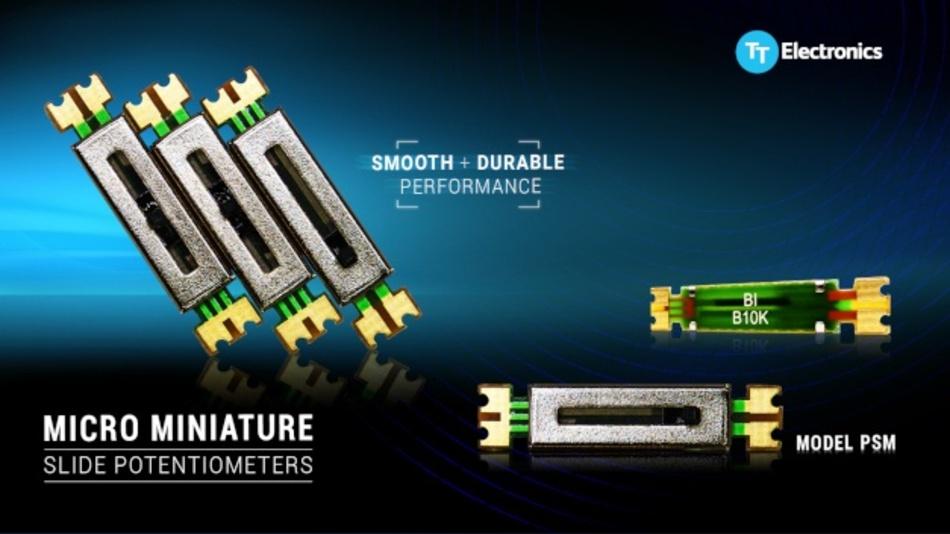 Miniatur-PCB-Schieberegler-Potentiometer für Audio-, Gebrauchs-, medizinische und industrielle Anwendungen.