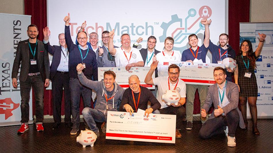 Die Gewinner-Teams des TechMatch 2019.