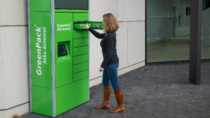 GreenPack Akku-Automat in Berlin