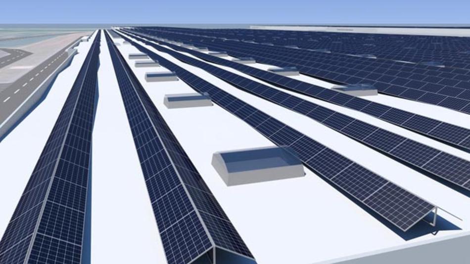 Künftig soll es klimaneutrale Energie für Audi Hungaria geben - es wird eine Photovoltaik-Anlage auf 160.000 m2 gebaut.