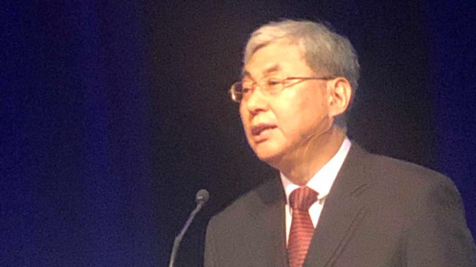 Hoi-Jun Yoo vom koreanischen Forschungsinstitut KAIST präsentierte einen energieeffizienten DNN-Prozessor.