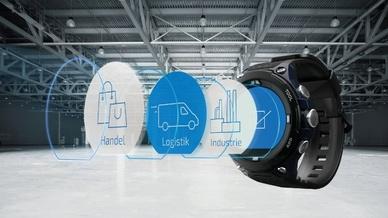Casio will mit der WSD-F20A-BPA die neue Produktkategorie B2B-Smartwatch ins Leben rufen.