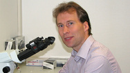 Prof. Dr. Tim Gollisch, Klinik für Augenheilkunde der Universitätsmedizin Göttingen (UMG).