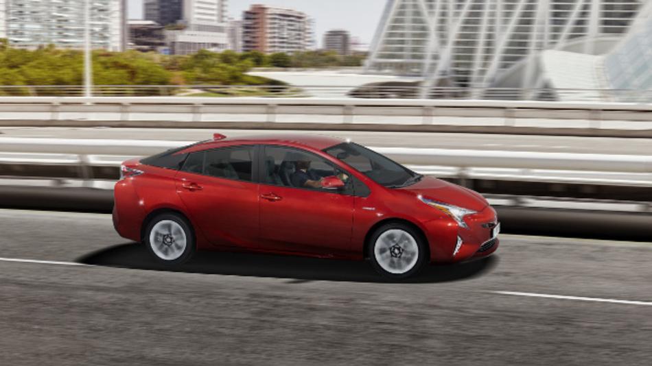 Die TU Darmstadt hat die vierte Generation des Toyota Prius im realen Straßenverkehr  getestet.