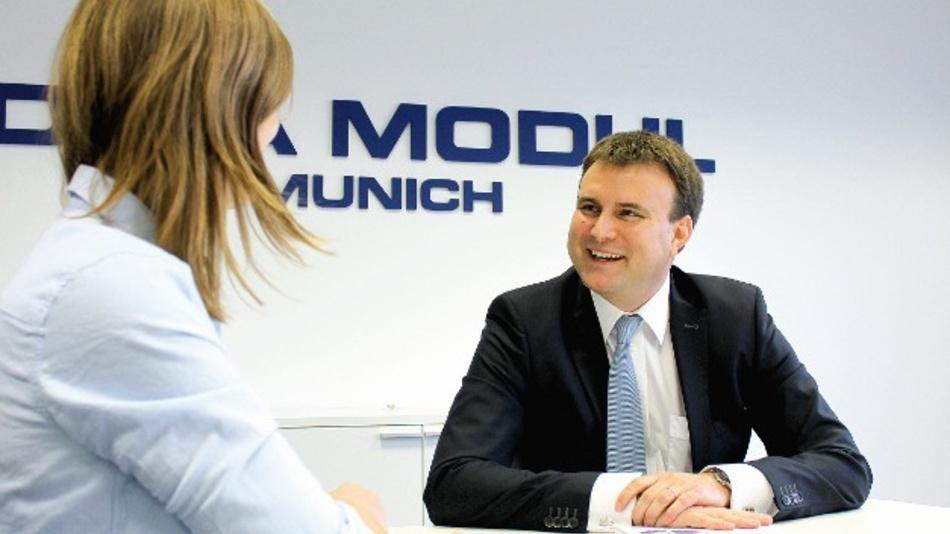 Dr. Florian Pesahl, Data Modul, im Gespräch mit Anja Zierler, Markt&Technik