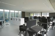 Einblick in das Lernbüro der Blautopf-Schule.