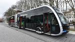 Hamburger Hochbahn testet Elektro-Gelenkbus