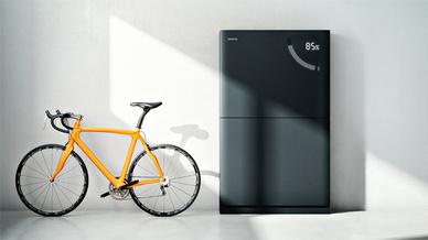 In modularen Einheiten zu je 3,3 kWh kann der neue Batteriespeicher von Siemens ausgebaut werden.