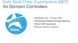 STMicroelectronics stellt mir der Stellar-Serie sichere Echtzeit-Mikrocontroller für  Domain-Architekturen im Automotive-Bereich vor.