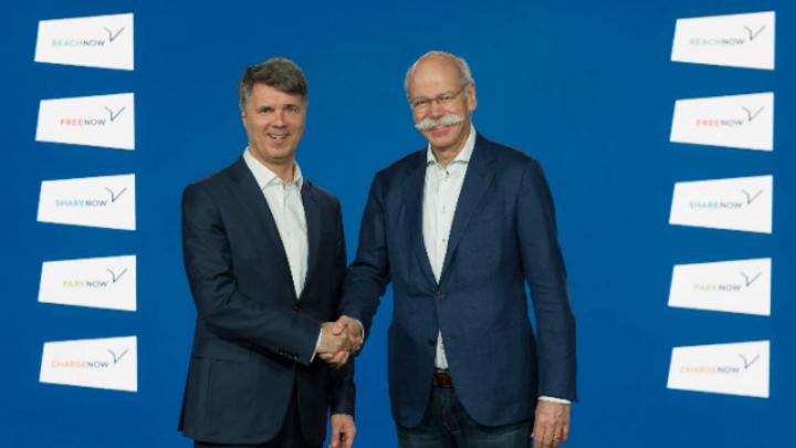 Harald Krüger und Dieter Zetsche