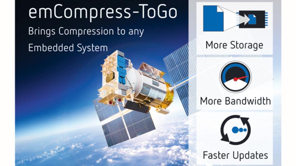 emCompress: Kompressionstool für kleine Embedded-Systeme mit verbessertem Kompressionsalgorithmus.