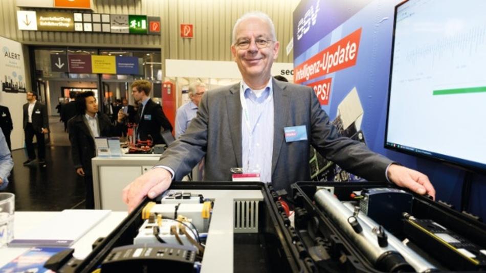 """Klaus-Dieter Walter, SSV Software Systems: """"Machine-Learning-Algorithmen in dezentralen Energie-Management-Systemen können die Elektromobilität handhabbar machen."""""""