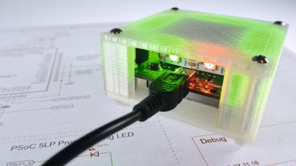 """Gewinnen Sie am Glyn-Stand eines von 150 """"Dusty"""" Feinstaub-Multisensor Starterkits mit BLE 5.0 im Wert von je 120 Euro."""