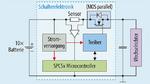 Blockschaltung des Halbleiterprodukts (SSR) als elektronischer Schützersatz