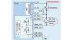lockschaltung des vierkanaligen Treibers L9305 zur Ansteuerung von zwei Hochspannungsschützen