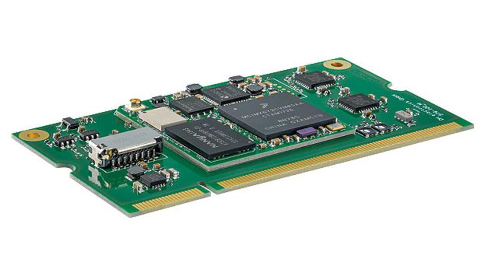 System-on-Modules, die auf der Steckplatine gelötet oder gesteckt werden können.