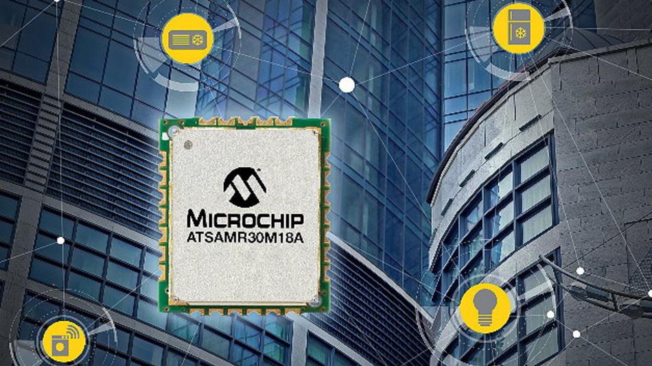Das SAM R30 Modul ermöglicht drahtlose Sensornetze mit geringer Leistungsaufnahme und kleinsten Abmessungen im Sub-GHz-Bereich.