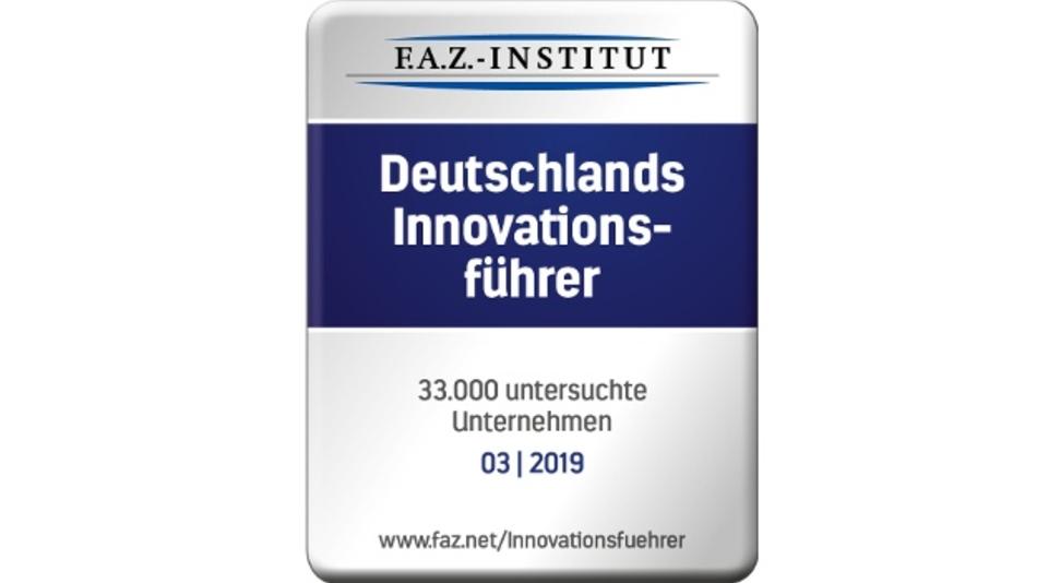 Das F.A.Z.-Institut untersuchte 33.000 Unternehmen, um Deutschlands Innovationsführer zu führen.