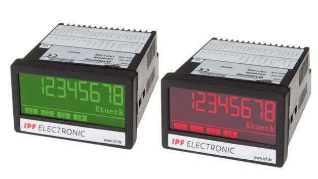 Anzeigegeräte WY050100, WP050100 und BA050100 von ipf Electronic