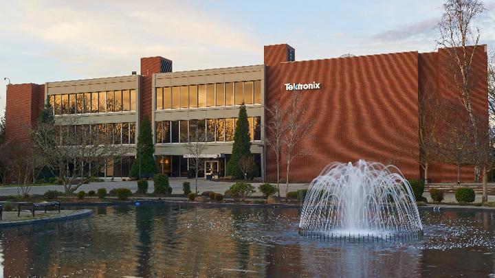Tektronix Hauptsitz in Beaverton, Oregon.