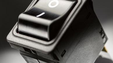 Die Schalter der TA35-Serie eignen sich u.a. für die Medizintechnik.