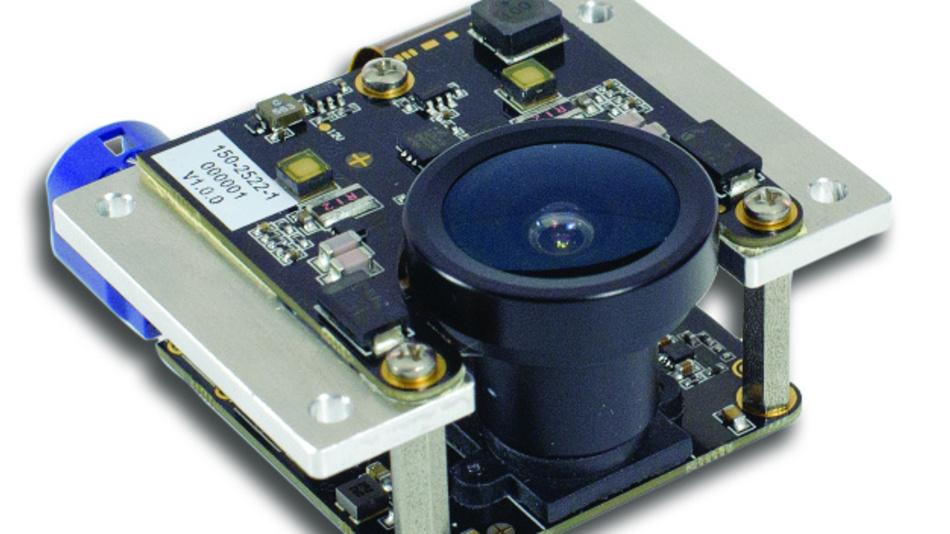 Das ToF-Frontend beherbergt die Beleuchtung und den ToF-Sensor.