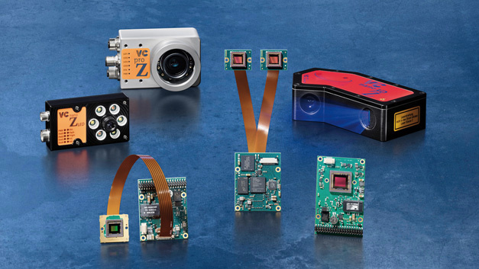 Vision Components präsentiert einen neuen 3D-Lasersensor, der zusätzlich 2D-Bilder verarbeiten kann, und Embedded-Vision-Systeme mit neuen Bildsensoren.