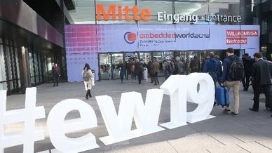 Eingang embedded world 2019