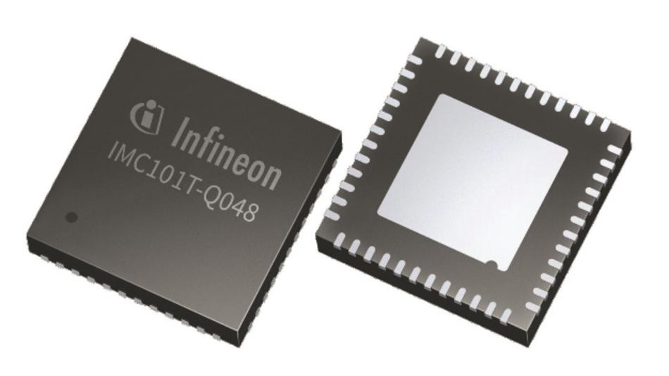Bild 1: Durch die Kombination der erforderlichen Hardware mit dem Regelalgorithmus sollen die IMC100-Bausteine von Infineon die Markteinführung für Motorsysteme deutlich verkürzen.