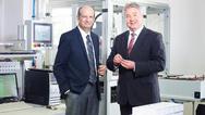 Firmengründer Marcellus Buchheit (l.) und Oliver Winzenried (r.)