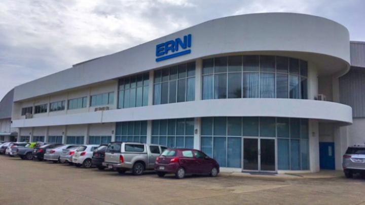 Das Produktions- und Logistikzentrum von ERNI in Thailand.