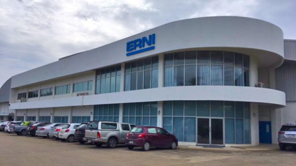 ERNI's Thailand site in Lamphun.