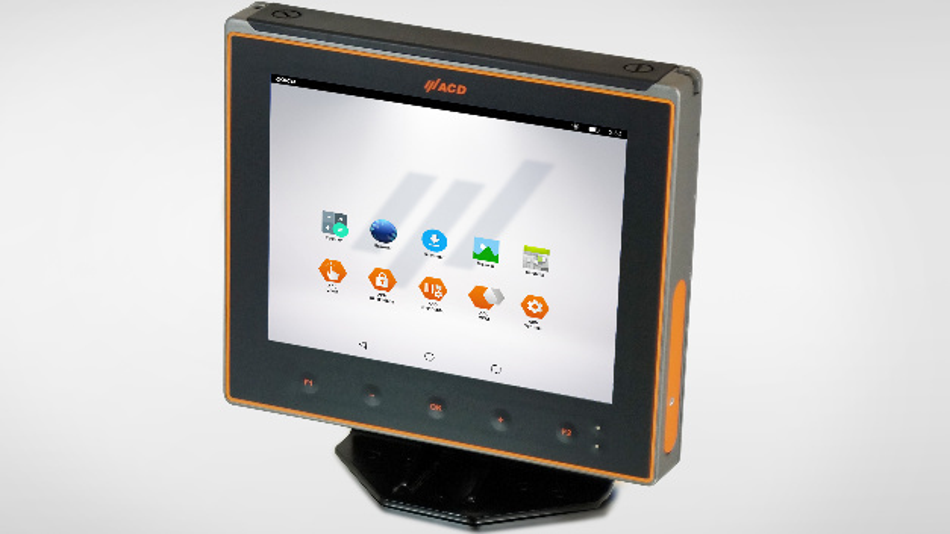Fahrzeugterminal MFT10 mit Android Betriebssystem von ACD Elektronik.
