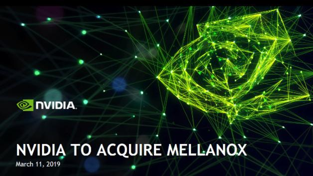 Nvidia übernimmt Chiphersteller Mellanox für mehrere Milliarden