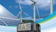 Die NaS-Batterie von NGK, die im MiRIS-Projekt arbeitet, für das AEG Power Solutions das Energieumwandlungssystem liefert.