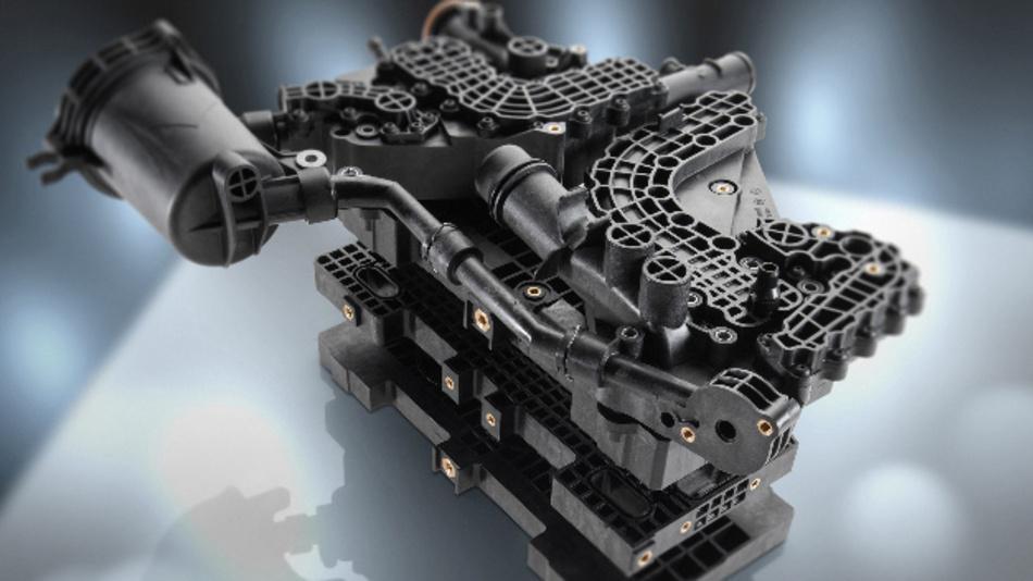 Die neuen Kunststoffteile für den Einsatz in Brennstoffzellen.