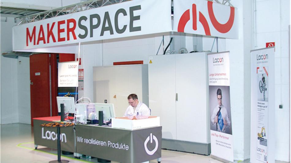 Ausprobieren im Lacon Makerspace: Für Mitarbeiter und interessierte Kunden