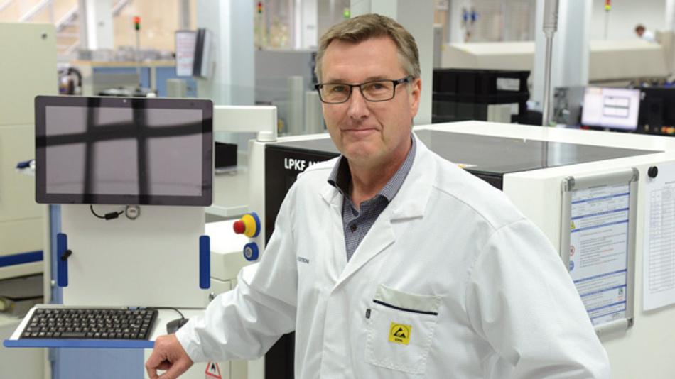 Bernd Helms, Leiter Marketing und Sales, Atlas EMS