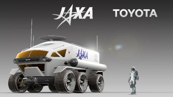 10.000 km soll das mit Brennstoffzellen betriebene Fahrzeug auf dem Mond zurücklegen können und zwei Personen befördern.