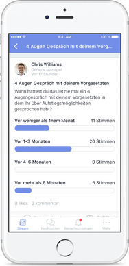 Beekeeper digitale Umfrage Smartphone